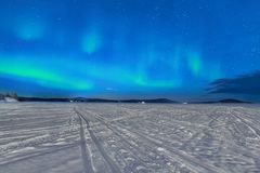 Northern Lights Royalty Free Stock Photography