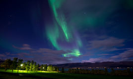 The northern lights Royalty Free Stock Images