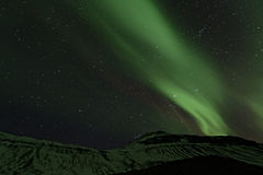 Northern Lights, Iceland Stock Photography