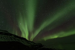 Northern Lights, Iceland Stock Images
