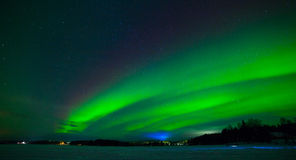 Northern lights Stock Image