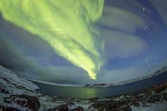 Northern Lights on the Kola Peninsula. Teriberka, Murmansk regio Stock Photos