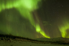 Northern lights in Lapland Stock Images