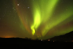 Northern Lights. The Northern Lights are a natural phenomenon, a spectacular sight to see Stock Photography