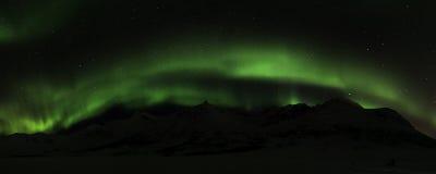 Northern Lights near Tromso, Norway Stock Photo