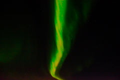 Northern lights in the night sky. Royalty Free Stock Photos