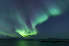 Northern Lights. In northern norway Royalty Free Stock Images