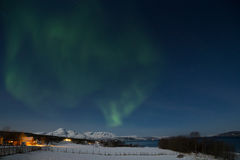 Northern lights in Norway Stock Photography