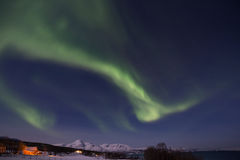Northern lights in Norway Stock Images