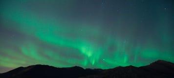 Northern Lights. The Northern lights over Anchorage, Alaska Stock Images