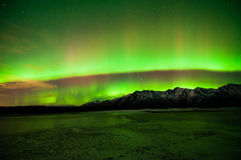 Northern Lights. Northern Lights  over Anchorage, Alaska Stock Image