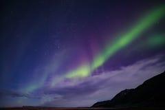 Northern Lights. Scandinavian natural wonders northern lights aurora borealis Royalty Free Stock Photo