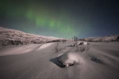 Northern lights in Sweden Stock Photos