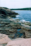 Northern Maine Coast. Image of the northern coast of Maine Royalty Free Stock Image