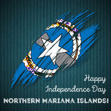 Northern Mariana Islands Independence Day. Royalty Free Stock Image
