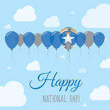 Northern Mariana Islands National Day Flat. Stock Images