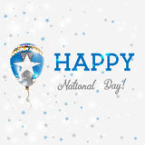 Northern Mariana Islands National Day patriotic. Stock Photo