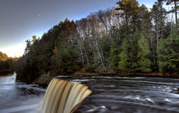 Northern Michigan UP Waterfalls stock photography