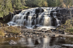Northern Michigan UP Waterfalls Bond Falls Royalty Free Stock Image