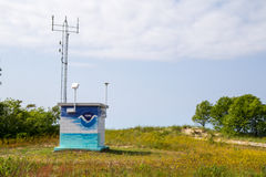 Northern Michigan Weather Station Royalty Free Stock Image