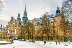 The Northern Museum is a museum of Swedish culture and ethnography in Stockholm. The Northern Museum is a museum of Swedish culture and ethnography in Stockholm royalty free stock photography