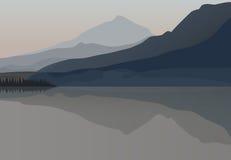 Northern nature landscape Stock Image
