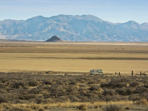Northern Nevada desert scene Royalty Free Stock Images
