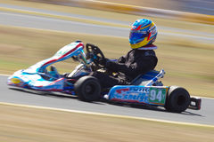 Northern Nevada Kart Club Panning Royalty Free Stock Photos
