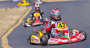 Northern Nevada Kart Club Racer Stock Photo