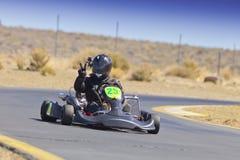 Northern Nevada Kart Club Racer Stock Photo