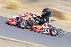Northern Nevada Kids Kart Club Racing Royalty Free Stock Photos