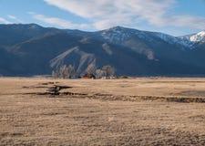 Northern Nevada ranch Royalty Free Stock Image