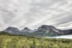 Northern Norway landscape Stock Photo