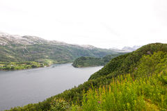 Northern Norway landscape Stock Photos