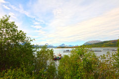 Northern Norway landscape Royalty Free Stock Photography