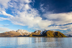 Northern Norway near Alta Royalty Free Stock Photo