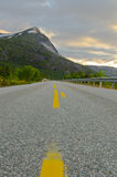 Northern Norway road Stock Photos