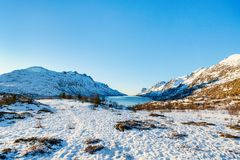 Northern Norway Royalty Free Stock Photo