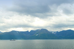 Northern Norwegian fjords. Stock Photo