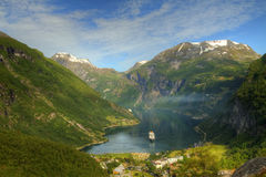 Northern Norwegian fjords. Stock Photography