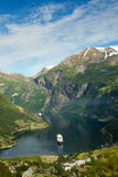 Northern Norwegian fjords. Royalty Free Stock Image