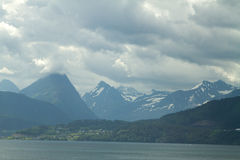 Northern Norwegian fjords. Royalty Free Stock Photos