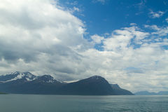 Northern Norwegian fjords. Stock Image