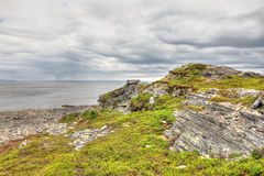 Northern Norwegian landscape Stock Photography