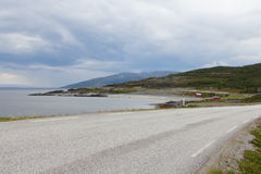 Northern Norwegian landscape Stock Photo