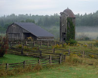 Northern Ontario Farm Royalty Free Stock Images