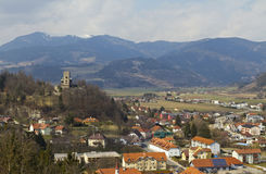 Northern part of Friesach and Geiersburg Stock Photo