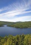 Northern Quebec lake Stock Image