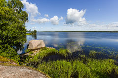 Northern Russian nature Royalty Free Stock Photo