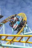 Northern`s California only spinning coaster, Santa Cruz, Califor Royalty Free Stock Image